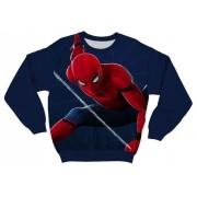 Moletom Infantil Homem Aranha