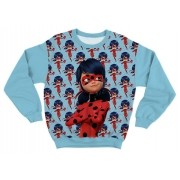 Moletom Infantil Ladybug Azul
