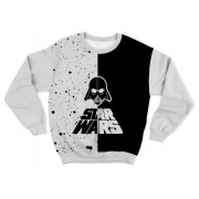 Moletom Infantil Star Wars Branco