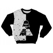 Moletom Infantil Star Wars Preto