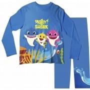 Pijama Adulto Baby Shark Azul Escuro PJML