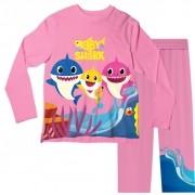 Pijama Adulto Baby Shark Rosa PJML