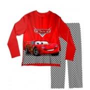 Pijama Adulto Carros Vermelho PJML