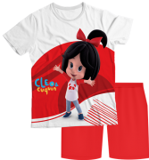 Pijama Adulto Cleo e Cuquin Branco PJMC