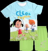 Pijama Adulto Cleo e Cuquin PJMC