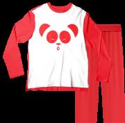 Pijama Adulto Cleo e Cuquin Vermelho PJML