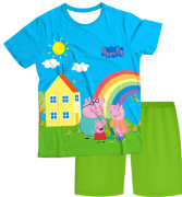 Pijama Adulto Familia Peppa Pig PJMC