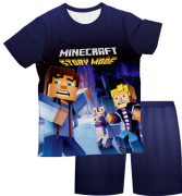 Pijama Adulto Minecraft Story Mode 2 PJMC