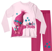 Pijama Adulto Trolls Rosa PJML