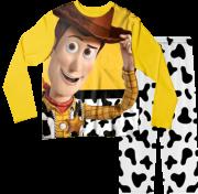 Pijama Adulto Woody Toy Story Amarelo PJML