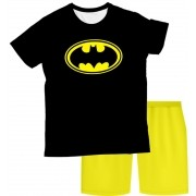 Pijama Infantil Batman Simbolo  PJMC