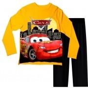 Pijama Infantil Carros Amarelo PJML