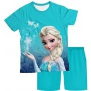 Pijama Infantil Frozen Elsa PJMC
