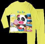 Pijama Infantil Baby Bus Amarelo PJML
