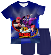 Pijama Infantil Brawl Stars 1 PJMC