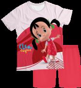 Pijama Infantil Cleo e Cuquin Colitas PJMC