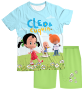 Pijama Infantil Cleo e Cuquin PJMC