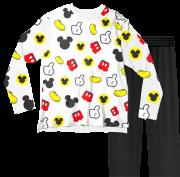 Pijama Infantil Disney Mickey Branco PJML
