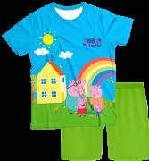 Pijama Infantil Familia Peppa Pig PJMC