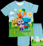 Pijama Infantil Festa das Palavras PJMC