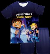 Pijama Infantil Minecraft Story Mode 2 PJMC