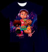Pijama Infantil Mini Beat Power Rockers PJMC
