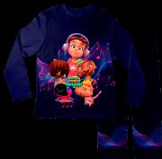 Pijama Infantil Mini Beat Power Rockers PJML