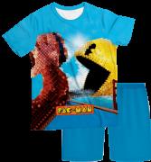Pijama Infantil Pac Man Pixels 2 PJMC