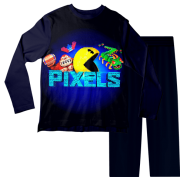 Pijama Infantil Pac Man Pixels PJML