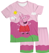 Pijama Infantil Peppa Pig PJMC