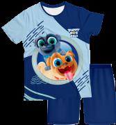 Pijama Infantil Puppy Dog PJMC