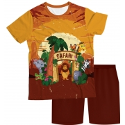 Pijama Infantil Safari PJMC