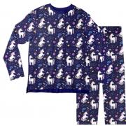 Pijama Infantil Unicórnio Azul PJML