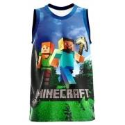 Regata Infantil Minecraft Azul RG