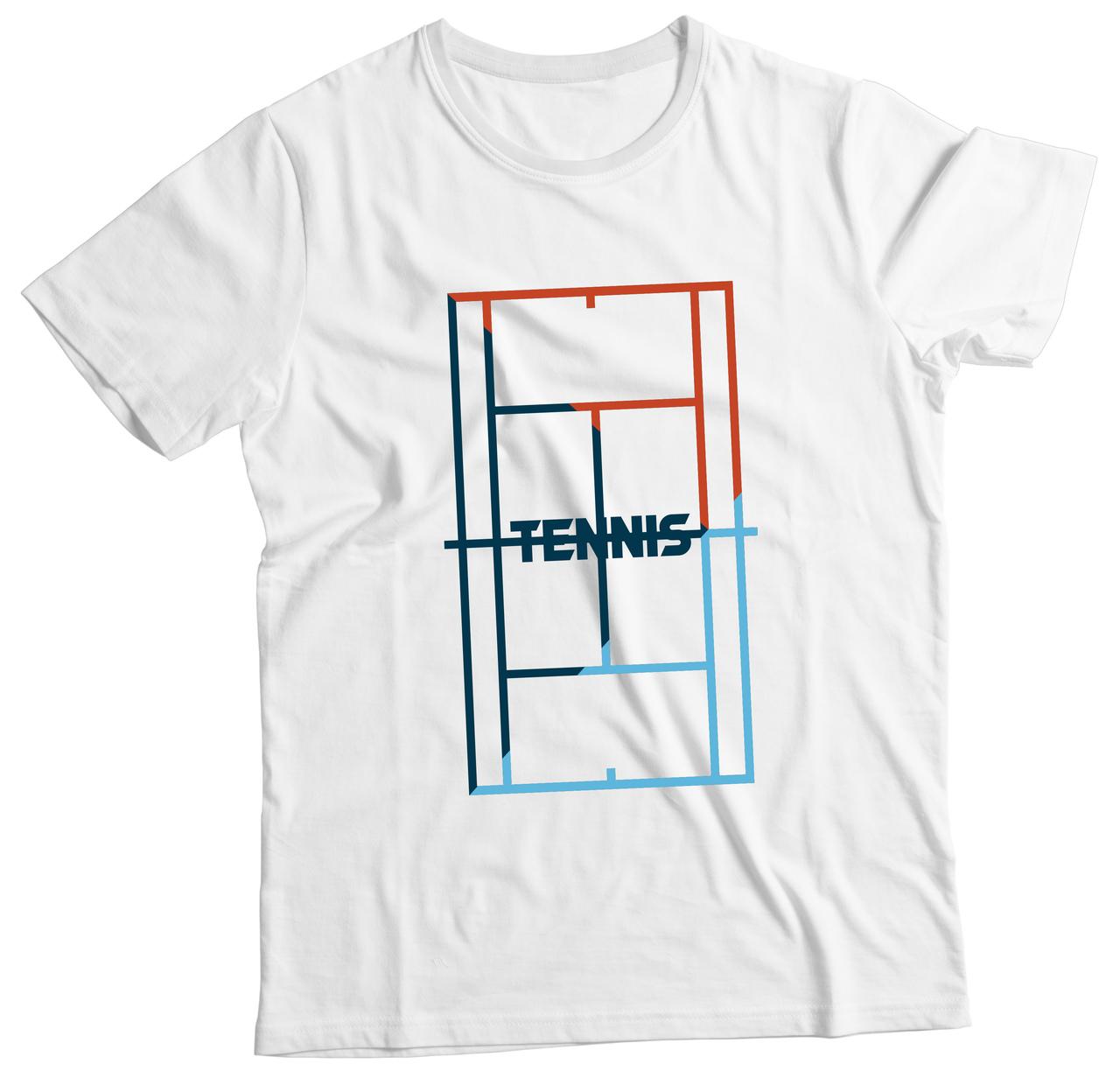 Camiseta Adulto Tennis Branco MC