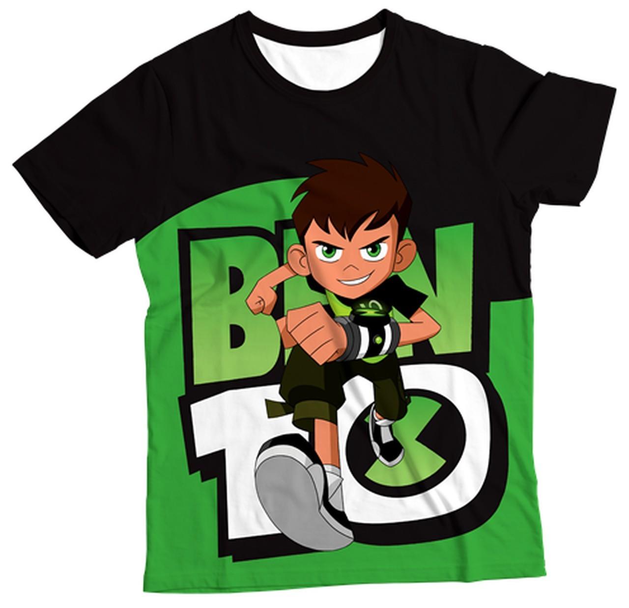 Camiseta Infantil BEN 10 MC