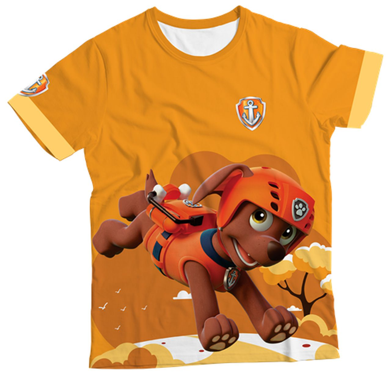 Camiseta Zuma Patrulha Canina Mcdvmcamiseta Manga Curta