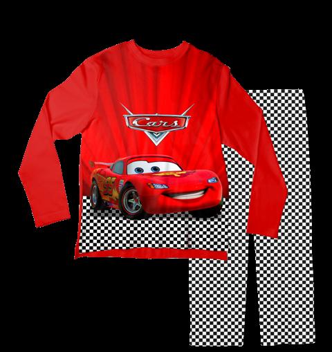 Pijama Infantil Carros Vermelho PJML