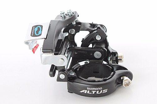 Câmbio Dianteiro Dual Pull Shimano Altus Fd-m310 7/8v