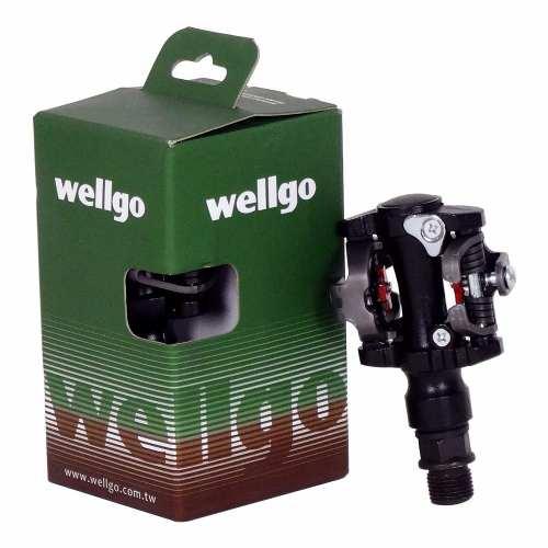 Pedal Wellgo Clip M919 Taquinho Rosca Grossa 9/16 M505 M520