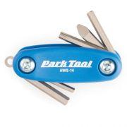 Canivete De Chaves Park Tool Aws-14 6 Funções Azul