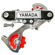 Câmbio Traseiro Yamada Cromado 6v Com Ponteira Para Roda Livre