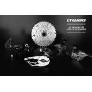 Kit Transmissão Ltwoo V5010 2x10v 20v Alavanca Câmbio Casset