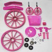 Kit Para Montagem Bicicleta Infantil Menina Aro 16 Rosa
