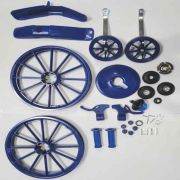 Kit Para Montagem Bicicleta Infantil Menino Aro 16 Azul
