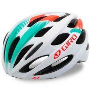 Capacete Ciclismo Giro Trinity Branco Verde Tamanho 54-61