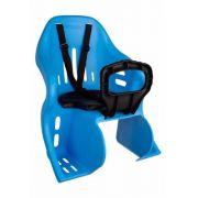 Cadeirinha Kalf Kid Bike Traseira Azul Para Bicicleta 25kg