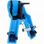 Cadeirinha Kalf Baby Bike Dianteira Azul Para Bicicleta 15kg