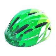 Capacete Ciclismo High One Piccolo Verde Tam M Infantil