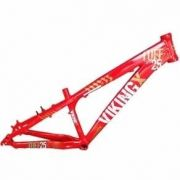 Quadro 26 Vinkingx Dirt Jump Tuff X-25 Alumínio Vermelho